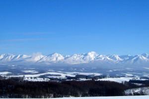 Tokachidake chain of mountains